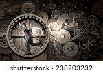 young businessman in suit... | Shutterstock . vector #238203232