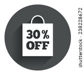 30  sale bag tag sign icon....