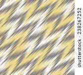 seamless ikat chevron... | Shutterstock .eps vector #238267252