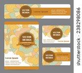 corporate identity vector... | Shutterstock .eps vector #238298086