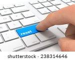 reset key | Shutterstock . vector #238314646