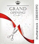 Grand Opening Card With Red...