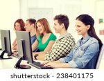 education  technology and... | Shutterstock . vector #238401175