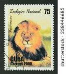 cuba  circa 2005   a stamp...   Shutterstock . vector #238446685