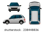 a vehicle on a white background   Shutterstock .eps vector #238448836