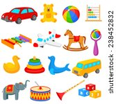 vector illustration of colorful ... | Shutterstock .eps vector #238452832