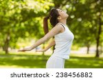 side view of healthy and... | Shutterstock . vector #238456882
