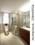 the elegant bathroom | Shutterstock . vector #238469026