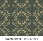 seamless floral wallpaper...   Shutterstock .eps vector #23847304