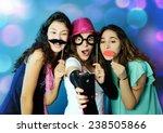 funny girls | Shutterstock . vector #238505866