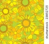seamless floral pattern | Shutterstock .eps vector #23852725