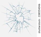 Crushed Glass Hand Drawn ...