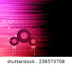 valentine's day disco flayer... | Shutterstock . vector #238573708