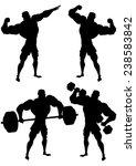 Bodybuilder In Different Poses...