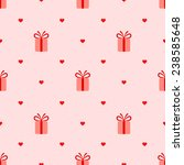 pink seamless pattern with... | Shutterstock .eps vector #238585648