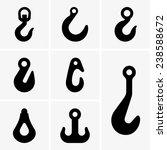 lifting hooks | Shutterstock .eps vector #238588672