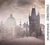 Charles Bridge Misty Morning I...