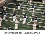 foosball table or table soccer... | Shutterstock . vector #238605916