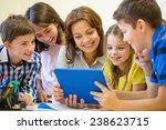 education  elementary school ... | Shutterstock . vector #238623715