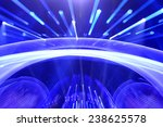 the flashing stage lighting... | Shutterstock . vector #238625578