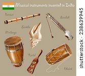 musical background series. set... | Shutterstock .eps vector #238639945