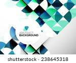 abstract modern flyer  ... | Shutterstock . vector #238645318