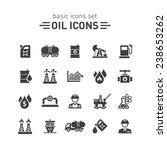 oil icons set.   Shutterstock .eps vector #238653262