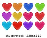 valentin s day vector icons | Shutterstock .eps vector #23866912