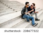 Best Friends In Sunglasses...