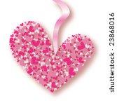 beautifull valentine's vector...   Shutterstock .eps vector #23868016