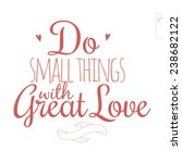 inspirational and motivational... | Shutterstock .eps vector #238682122