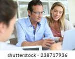business people meeting and... | Shutterstock . vector #238717936