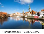 Lubeck Unesco Old City Panorama