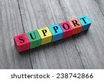 concept of support | Shutterstock . vector #238742866