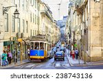 lisbon  portugal   october 27   ... | Shutterstock . vector #238743136