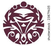 vector design tribal tattoo | Shutterstock .eps vector #23879635