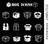 box pictogram   Shutterstock .eps vector #238817212