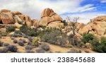 A Rocky  High Desert Scene With ...