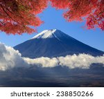 The Sacred Mountain Of Fuji In...
