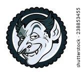 halloween dracula | Shutterstock .eps vector #238853455