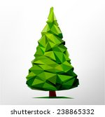 tree abstract isolated on a... | Shutterstock .eps vector #238865332