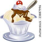 illustration of an ice cream | Shutterstock .eps vector #23887996