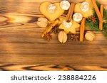 christmas decoration  ...   Shutterstock . vector #238884226