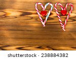 christmas decoration   candy...   Shutterstock . vector #238884382