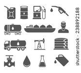 oil industry drilling refining... | Shutterstock .eps vector #238892188