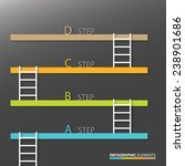 step by step concept... | Shutterstock .eps vector #238901686