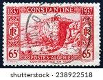 algeria   circa 1937  a stamp...   Shutterstock . vector #238922518