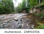 view to the mountain river in... | Shutterstock . vector #238932556