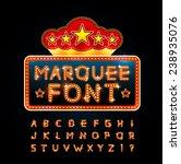 retro font | Shutterstock .eps vector #238935076