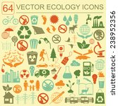 environment  ecology icon set.... | Shutterstock .eps vector #238952356
